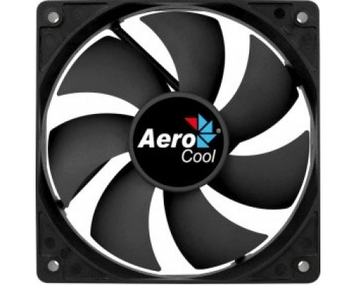 Fan Aerocool Force 12 / 120mm/ 3pin+4pin/ Black