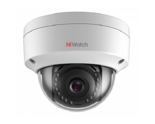 HiWatch DS-I202 (С) (2.8 mm) Видеокамера IP 2.8-2.8мм цветная корп.:белый