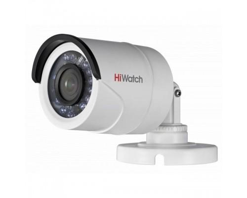 HiWatch DS-T200(B) (2.8 mm) Камера видеонаблюдения 2.8-2.8мм HD TVI цветная корп.:белый