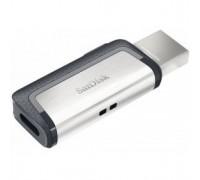 SanDisk USB Drive 128Gb Ultra Dual SDDDC2-128G-G46 USB3.0/USB Type-C, Black