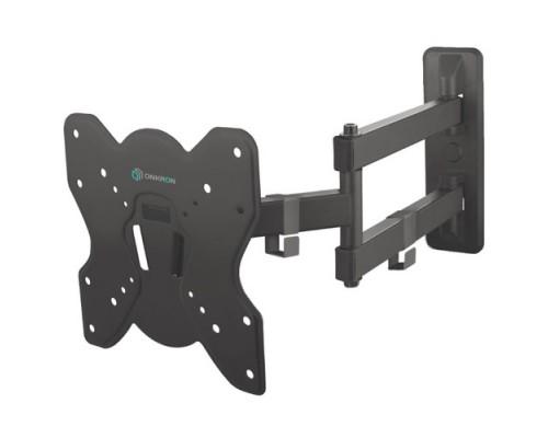 ONKRON BASIC M4S чёрный Для телевизоров диагональю 17-42 Максимальная нагрузка: 35 кг VESA: 75x75, 100x100, 200x100, 200x200 мм