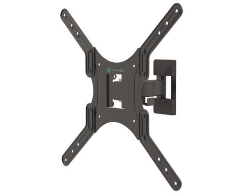ONKRON M2 чёрный Для телевизоров диагональю 26-55 Максимальная нагрузка: 35 кг VESA: 100x100, 200x100, 200x200, 200x300, 200x400, 300x200, 300x300, 400x200, 400x300, 400x400 мм