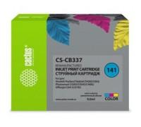 Картридж струйный Cactus CS-CB337 №141 многоцветный (9мл) для HP DJ D4263/D4363/D5360/DJ J5783/J6413