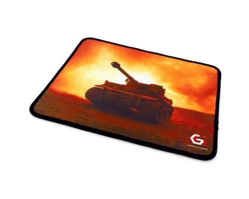 Коврик для мыши Gembird MP-GAME33, рисунок- танк, размеры 250*200*3мм, ткань+резина, оверлок
