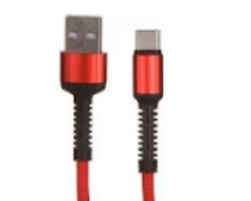 LDNIO LD_B4462 LS63/ USB кабель Type-C/ 1m/ 2.4A/ медь: 86 жил/ Red