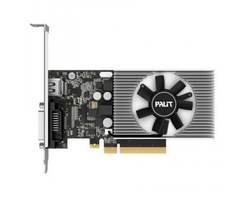 Palit PCI-E PA-GT1030 2GD4 nVidia GeForce GT 1030 2048Mb 64bit DDR4 1151/2100 DVIx1/HDMIx1/HDCP Ret low profile NEC103000646-1082F